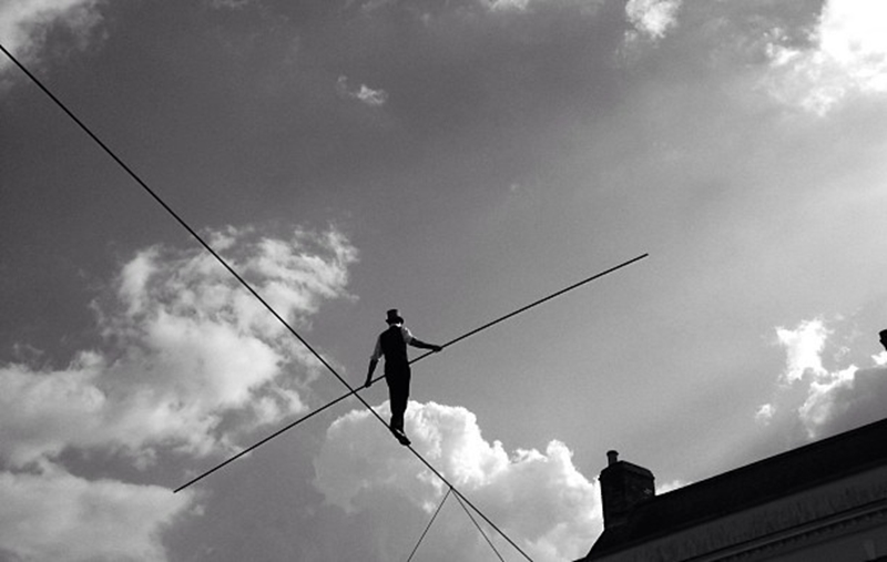 Business owners walk a tightrope when it comes to balancing risk against reward.